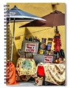 Street Eats Spiral Notebook