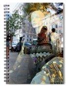 Street Fashion Spiral Notebook