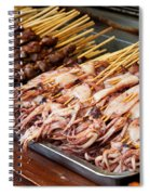Street Food, China Spiral Notebook