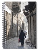 Street In Aleppo Syria Spiral Notebook