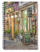 Street In Ghent Spiral Notebook