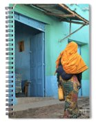 Street In Harar Ethiopia  Spiral Notebook