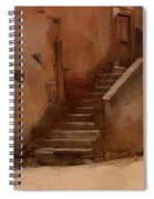 Street In Italy Spiral Notebook