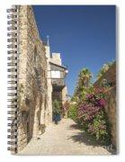Street In Jaffa Tel Aviv Israel Spiral Notebook