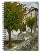 street in old Albaycin in Granada Spiral Notebook