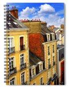 Street In Rennes Spiral Notebook