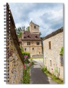 Street In Saint-cirq-lapopie Spiral Notebook