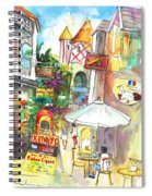 Street In Saint Martin Spiral Notebook