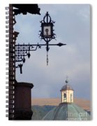 Street Lamp, Assisi Spiral Notebook
