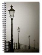 Street Lamps Spiral Notebook