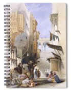 Street Leading To El Azhar, Grand Spiral Notebook