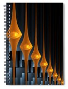 Street Lights Spiral Notebook
