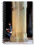Street Musician 4 Spiral Notebook
