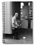 Street Musician Spiral Notebook