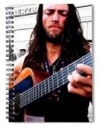 Street Musician Series #1 Spiral Notebook