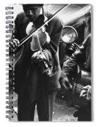 Street Musicians, 1935 Spiral Notebook