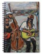 Street Performance - Left Hand 2 Spiral Notebook