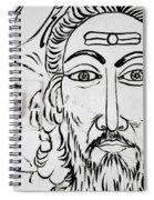 A Man In Cochin Spiral Notebook