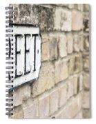 Street Sign Spiral Notebook