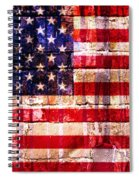 Street Star Spangled Banner Spiral Notebook