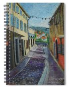 Street View From Provence Spiral Notebook