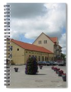 Street View. Silute Lithuania May 2011 Spiral Notebook