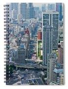 Street View Tokyo Spiral Notebook