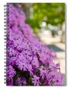 Street Wildflower Spiral Notebook