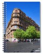 Streetcorner In Rome Spiral Notebook