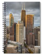 Streeterville From Above Spiral Notebook