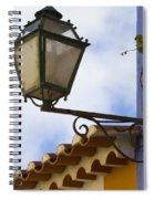 Streetlight Horizontal Spiral Notebook