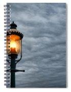 Streetlight Spiral Notebook