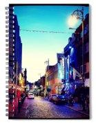 Streets Of Dublin Spiral Notebook