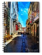 Streets Of Lisbon 1 Spiral Notebook