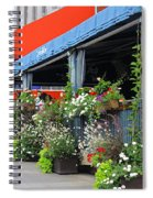 Streets Of Montreal 1 Spiral Notebook