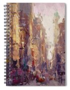Streets Of New York Spiral Notebook