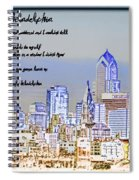 Streets Of Philadelphia Spiral Notebook