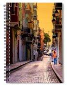 Streets Of San Juan Spiral Notebook