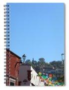 Streets Of San Miguel De Allende 2 Spiral Notebook