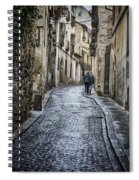 Streets Of Segovia Spiral Notebook
