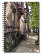 Streets Of Troy New York Spiral Notebook