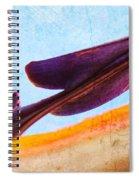 Strelitzia Abstract Spiral Notebook