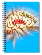 Stress Spiral Notebook
