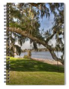 Stretch To The Water Spiral Notebook