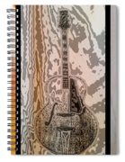 Striking A Chord Spiral Notebook