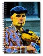 My String Instrument Spiral Notebook