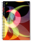 String Of Lights 1 Spiral Notebook