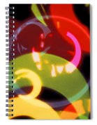 String Of Lights 2 Spiral Notebook