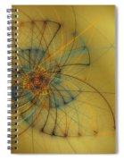 String Shell Spiral Notebook