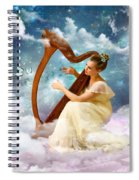 Strings Of My Heart Spiral Notebook